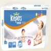 Disposable compressed cute baby diapers