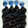 Double drawn Virgin brazilian hair weaving