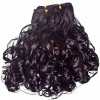 Double wefts shed free and cuticles virgin Brazilian hair