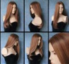 EUROPEAN HAIR WIGS - HUMAN HAIR QUALITY WIGS FREE BANGS