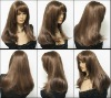 Excellent style 100% virgin Brazilian hair wigs