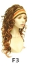F3 sports girl's  wig