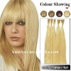 FACTORY PRICE high quality pre bonded keratin hair extensions
