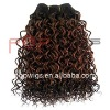 Factory price deep wave synthetic human wefts