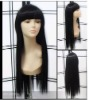 Factory price excellent quality human hair front lace wig