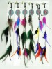 Factory-sale colorful feather hair in stock FH-4000