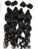 "Factory wholesale virgin brazilian remy hair weft brizilian hair extension natural wave16"" 100g/piece factory outlet price"