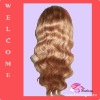 Factory wholesales high quality lace front wig remy hair