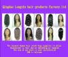 Fashion 100%  human hair full lace wig in stock