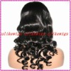 Fashion Body wave 100%Indian remy human hair full lace wigs