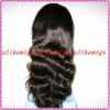 Fashion Body wave100%Indian remy human hair full lace wigs