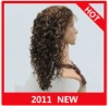 Fashion Curly Human Hair Wig Full Lace Wig Paypal acceptable