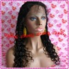Fashion Deep wave100%Indian remy human hair full lace wigs