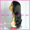 Fashion Natural-wave 100%Indian remy human hair full lace wigs