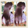 Fashion Silky straight Chinese virgin hair full lace wigs with bangs