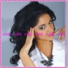 Fashion Super curl 100%Indian remy human hair full lace wigs