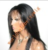 Fashion beautiful human hair Full lace wig