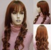 Fashion curly Chinese human hair wig for wholesale