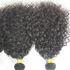 Fashion curly competitive price 100% human hair weaving indian hair