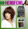 Fashion full lace brown short wigs synthetic wigs