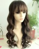 Fashion lace wig with bang