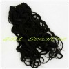 Fashion loose curl 100% indian remy hair weft