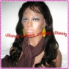 Fashion natrual-wave 100%Indian remy human hair full lace wigs