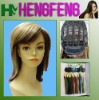 Fashion regular wave short wigs kanekalon ladies wigs