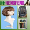 Fashion short wigs bright brown color wigs hair synthetic