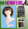 Fashion short wigs dark brown hair wigs hair synthetic