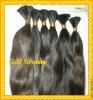 Fashion unprocessed Pure Virgin remy peruvian human hair bulk