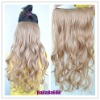 Fashoin style Kanekalon synthetic clip on hair extension