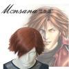 Final Fantasy VII 7 Genesis Rhapsodos Cosplay Wig