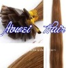 Flat tip hair extension,Indian remy hair