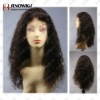 """French Curl 20"""" Virgin Remy Human Hair Full Lace Wig"""