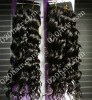 French curl brazilain hair extensions double drawn weft