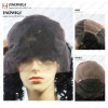 Frontal Lace Middle Stretch Human Hair Wig