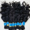 Full cuticle hair bulk brazilian hair bulk