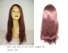 Full lace wig silky straight in full hair length 18""