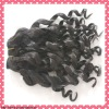 Grade AAA+ spiral curl virgin human brazilian hair extension