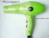 Green compact ionic hair drier(new hair dryer,Design hair dryer)