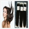 Guarantee 100% indian hair silky straight