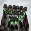 Guarantee 100% virgin indian hair natural wave