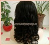 "Guaranteed Quality Fashion 18"" Beyounce Curl Malaysian Virgin Hair Lace Wigs"