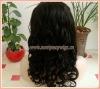 "Guaranteed Quality Fashion 18"" Beyounce Curl Malaysian Virgin Hair Lace Wigs"