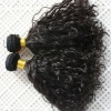 Guaranteed quality virgin remy curly hair extension weft