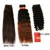 Hair weaving 100% pure human hair extension