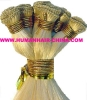 Hand tied hair weft/hair weaving/hair braiding