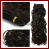 Hand tied hair weft with wholesale price