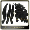 Hand tied virgin hair weft